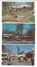 MA North Dartmouth Massachusetts Amusement Park Lot of 5 Vintage Postcards
