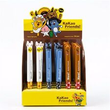 Cartoon Kakao Friends Ballpoint Pen Doll Face Ball Point Pen Stationery 2 Colors