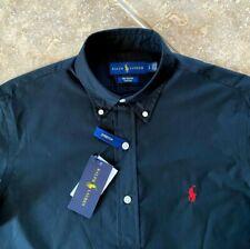 Ralph Lauren Oxford Shirt Mens XXL Black w/Red Pony Stretch Woven Cotton NWT $98
