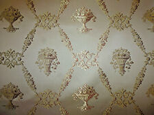 tissu ameublement Lampas style Restauration Charles X Tassinari Lelièvre 100x130