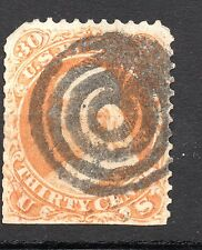 United States : 1861 30 Cents Benjamin Franklin ( nice cancelled )