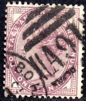 1881 SG 172 ½d lilac with A91 Southsea B O Portsmouth Duplex Cancellation