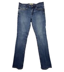 BILLABONG   Men's Outsider Slim Indigo Jeans Zip Fly with 5 Pockets   Size 32