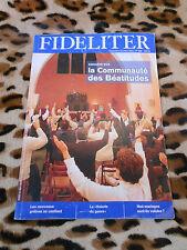 Revue - FIDELITER n° 203, 2011