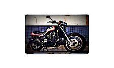 1985 vf1100 sabre Bike Motorcycle A4 Photo Poster