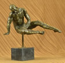 Dali Male with Chess Design Outfit 100% Solid Bronze Statue Sculpture Lost Wax