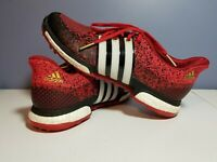 Mens 9.5 adidas Golf F33344 Mens Tour360 Prime Boost Shoe red black used nice