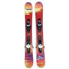 Summit Custom 110cm Skiboards Snowblades w. Atomic Adjustable Ski Bindings