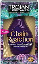 TROJAN Premium Collection Chain Reaction Lubricant 2.7 oz Damaged box (New)