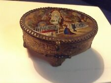 Boite napoléon III fixé sous verre