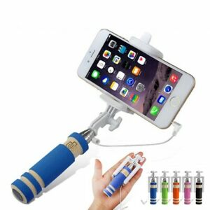 Mini Extendable Telescopic Handheld Self-portrait Tripod Selfie Monopod Stick.