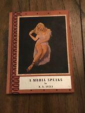 """A Model Speaks"" Miniature Shooting Device Trick Joke Book B. A. Succa"