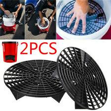 2* Car Wash Grit Guard Insert Washboard Water Bucket Filter Net Anti Scratches↙