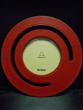 Pier 1 One Round Red Picture Frame New