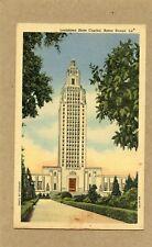 U. S. POSTCARD - LOUISIANA STATE CAPITAL, BATON ROUGE, LA. (MARSHALL, TX. CDS)