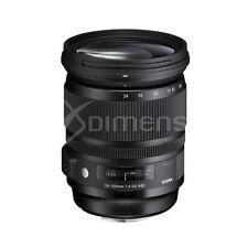 Sigma Art f/4 Camera Lenses for Canon