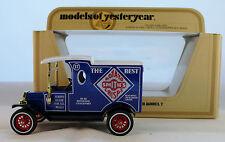 Matchbox Models of Yesteryear, Y12-3 : 1912 Ford Model T; Smith's Potato Crisps
