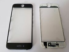 Iphone 7 Blanco Coldpress Marco + Bonded Cristal & Pre Aplicado Oca Lámina (3 en