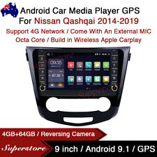 "9"" Android 10.1 Car Stereo Non-DVD GPS Radio Head Unit For Nissan Qashqai"