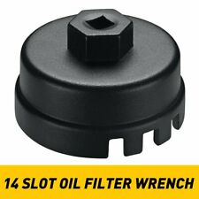 64mm Oil Filter Cap Wrench Cup Socket Remover Tool For Toyota Rav4 Lexus Scion A