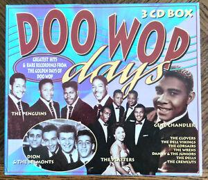 Doo wop days - Various 3 CD's Box Kenwest 1995