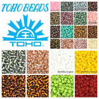 Tiny Toho Japan Glass Seed Beads 11/0 16 Grams Tube Choose Color Jewelry Loose