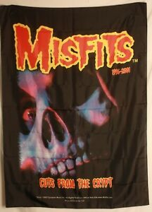 """Misfits Cuts From The Crypt Glenn Danzig Cloth Fabric Poster Flag 30"""" x 40"""" New"""