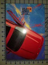 1989 Ford Merkur XR4Ti Brochure