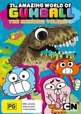 The Amazing World Of Gumball : Vol 3 DVD REGION 4  NEW & SEALED   D2570