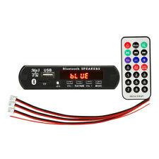 USB Car Bluetooth MP3 AUX Decoding Board FM Audio Receiver TF Radio Module