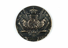 "Rare Belgian Silvered Bronze Military Medal ""Championnat Militaire 1968"