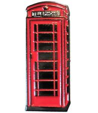 Red BT Traditional London Telephone Box GPO Public Call Phone Kiosk 25mm New