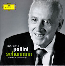 MAURIZIO POLLINI - SCHUMANN complete recordings. 4 CDs, NEU
