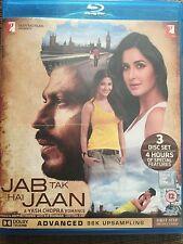 Jab Tak Hai Jaan 3 Disc Set Of Bollywood Blu Ray