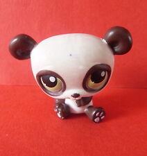 Littlest Pet Shop #176 blanco Oso Panda * Ojos Verdes * Lp * 2005