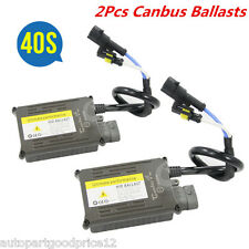 2Pcs AC 12V Pro Canbus Hid Xenon Ballast 35W Replacement Error Warning Canceller