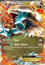 Pokemon Karte - White Kyurem EX 96/135, Holo, NM | Weißes Kyurem EX EN