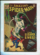 THE AMAZING SPIDER-MAN #76 (4.0) CLASSIC THE LIZARD COVER! MOVIE COMING!