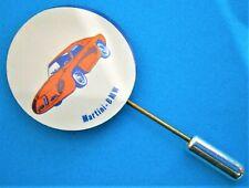 K753*) Vintage Martini BMW  B M W Motor Logo Car tie lapel pin collectable badge