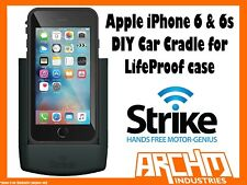 STRIKE ALPHA APPLE IPHONE 6 & 6s CAR CRADLE FOR LIFEPROOF CASE DIY FAST CHARGER