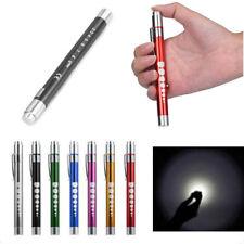 Pocket Medical First Aid LED Pen Light Flashlight Torch Doctor Nurse Emergency
