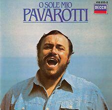 LUCIANO PAVAROTTI : O SOLE MIO - FAVOURITE NEAPOLITAN SONGS / CD