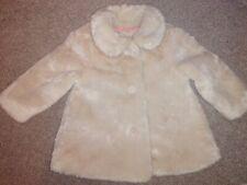 Mother care Girls Faux Fur Coat 18-24 Months