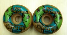 Vintage natural Toy Machine turtle Boy urethane skateboard wheel size 59mm