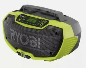 RYOBI ONE+ P746 18V Hybrid Stereo Radio Dual Power Bluetooth - (Radio Only)