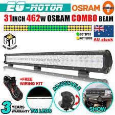 "31"" 462W OSRAM 5D LED WORK LIGHT BAR SPOT FLOOD COMBO LAMP 4X4 120/240/300/500W"