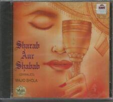 Sharab Aur Shabab (Qwwalies)Majid Shola(Performer)Baboo Kishan,Padmini Music,CD
