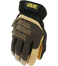 Mechanix Wear - Leather FastFit Gloves (small Brown/black)
