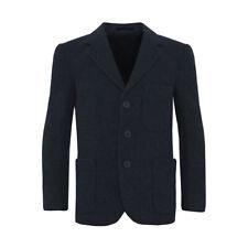 Beau Brummel Navy Blue Flannel Blazer 100% Wool - Boys/Girls/Various Sizes