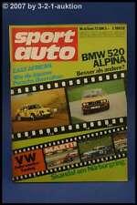 Sport Auto 6/73 BMW 520 Alpina Herkules K 125T + Poster